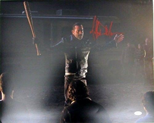 Jeffrey Dean Morgan Negan Walking Dead Autographed/Signed 16x20 Photo JSA 129321