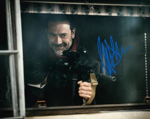 Jeffrey Dean Morgan Signed 8x10 Photo The Walking Dead Autograph Negan Coa A