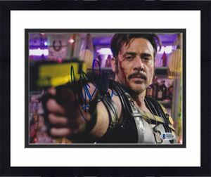 Jeffrey Dean Morgan Signed 8x10 Photo Watchmen Beckett Bas Autograph Auto Coa A