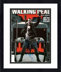 Jeffrey Dean Morgan Signed Autograph 8x10 Photo - Negan The Walking Dead Stud