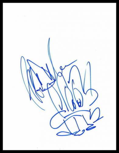 Jeffrey Dean Morgan Signed Autograph Hand-drawn Sketch - Walking Dead Very Rare!