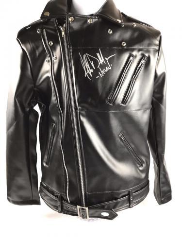 Jeffrey Dean Morgan Signed Autograph McFarlane Negan Jacket Walking Dead JSA COA