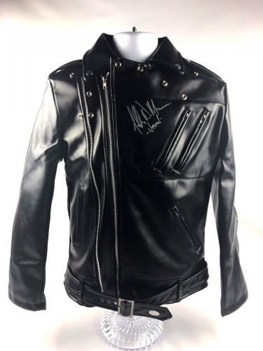 Jeffrey Dean Morgan Signed Autograph McFarlane Negan Jacket JSA WALKING DEAD
