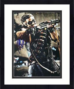 Jeffrey Dean Morgan Signed Autographed 8x10 Photo - Rare Watchmen Pose Image Coa