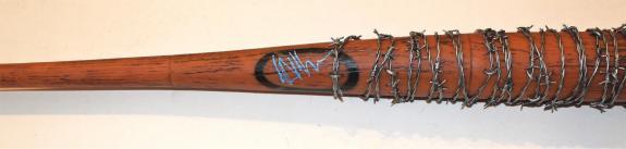 Jeffrey Dean Morgan Signed Lucille Bat w/COA Plastic Bat Original Box Included