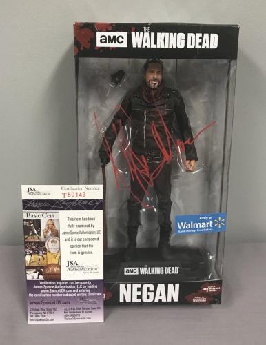 Jeffrey Dean Morgan SIGNED Negan ColorTops Figure PIC PROOF JSA The Walking Dead