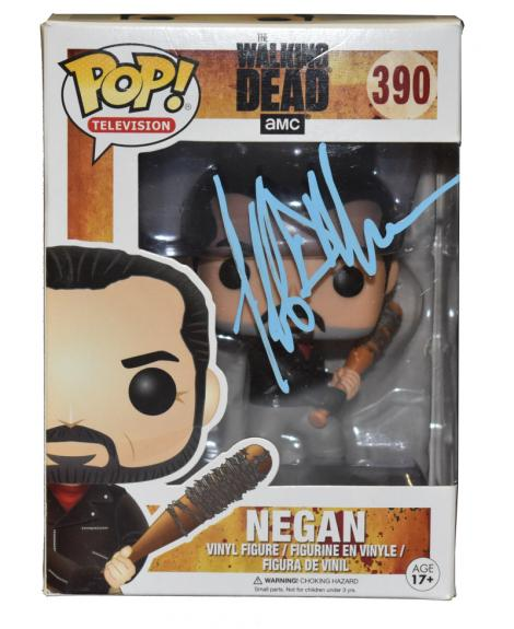 Jeffrey Dean Morgan Signed Pop Funko Negan Walking Dean Autograph Beckett Coa B