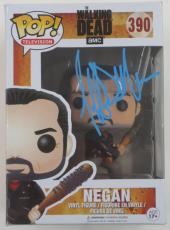 Jeffrey Dean Morgan Signed Pop Funko The Walking Dead Autograph Negan Coa Proof