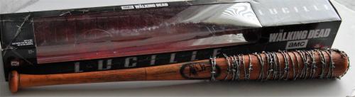 JEFFREY DEAN MORGAN signed *The Walking Dead* Lucille bat *PROOF* W/COA Negan