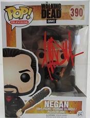 Jeffrey Dean Morgan Hand Signed Negan Funko Pop! Doll The Walking Dead JSA