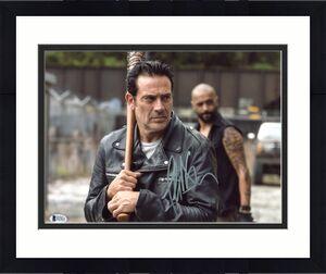 Jeffrey Dean Morgan The Walking Dead Signed 11x14 Photo BAS #E07853
