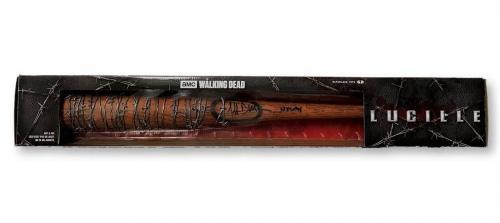 Jeffrey Dean Morgan Walking Dead Autographed Signed Lucille Bat PSA/DNA COA