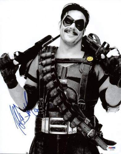 Jeffrey Dean Morgan Watchmen Signed 11X14 Photo PSA/DNA #U23658