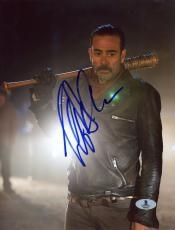 "Jeffrey Morgan Autographed 8"" x 10"" The Walking Dead Standing Photograph - Beckett COA"