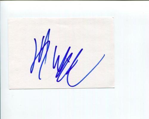 Jeffrey Wright James Bond Casino Royal Boardwalk Empire Signed Autograph