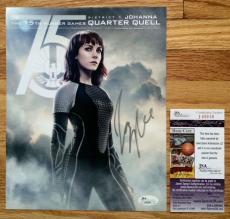 Jena Malone *Hunger Games* Signed 8x10 #3 JSA COA