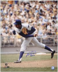 "Fergie Jenkins Chicago Cubs 16"" x 20"" Autographed Photograph with ""HOF 91"" Inscription  - Mounted Memories"