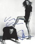 "JENNIFER ANISTON as BROOKE and VINCE VAUGHN as GARY in The Movie ""THE BREAK UP"" Signed by Both 8x10 B/W Photo"