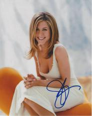 "JENNIFER ANISTON - Gained Worldwide Recognition for Portraying RACHEL GREEN on ""FRIENDS"" Movies Include ""BRUCE ALMIGHTY"", ""THE BREAK UP"", and ""JUST GO WITH IT"" Signed 8x10 Color Photo"