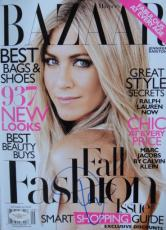 Jennifer Aniston SEXY Signed NL BAZAAR Magazine JSA