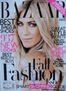 Jennifer Aniston SEXY Signed NL BAZAAR Magazine JSA