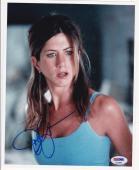 Jennifer Aniston Signed 8x10 Photo Hot Sexy Friends Authenic Autograph Psa