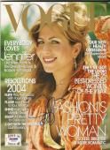 Jennifer Aniston Signed Autographed Vogue January 2004 Magazine PSA/DNA #Z64231