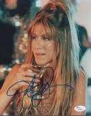 JENNIFER ANNISTON HAND SIGNED 8x10 COLOR PHOTO      GORGEOUS YOUNG POSE      JSA