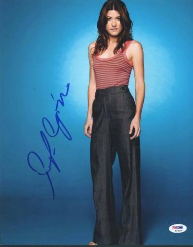 Jennifer Carpenter Dexter Signed 11X14 Photo PSA/DNA #K63230