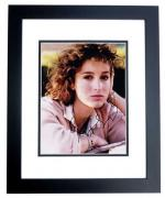 Jennifer Grey Signed - Autographed DIRTY DANCING 8x10 inch Photo BLACK CUSTOM FRAME - Guaranteed to pass PSA or JSA