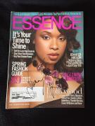 Jennifer Hudson Signed Essence Magazine