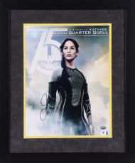 Jennifer Lawrence Autographed 11x14 Framed Photo