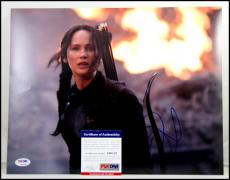 Jennifer Lawrence Autographed Signed 11x14 Photo Picture Hunger Games Psa Coa