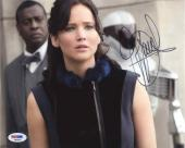 Jennifer Lawrence Full Signature Autographed Signed 8x10 Photo PSA/DNA COA