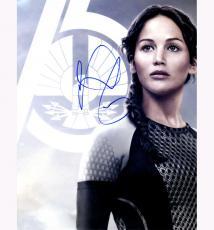 Jennifer Lawrence Hunger Games Autographed Signed 11x14 Photo AFTAL UACC RD