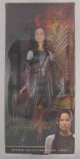 Jennifer Lawrence Hunger Games Signed Barbie Doll Certified Authentic PSA/DNA !