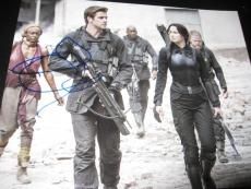 JENNIFER LAWRENCE LIAM HEMSWORTH SIGNED AUTOGRAPH 8x10 HUNGER GAMES MOCKINGJAY R