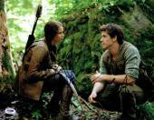 Jennifer Lawrence & Liam Hemsworth Signed Hunger Games Auto 11x14 Photo PSA/DNA
