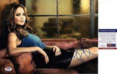Jennifer Lawrence Signed 11x14 Photo PSA DNA COA Autograph Hunger Games Sexy Joy