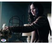 Jennifer Lawrence signed 8x10 photo Hunger Games Katniss Everdeen PSA/DNA