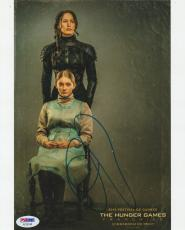 Jennifer Lawrence Signed Auto'd 8x10 Photo Psa/dna Ac30140 The Hunger Games