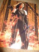 Jennifer Lawrence Signed Autograph 11x14 Hunger Games Mocking Jay Part 2 Promo C