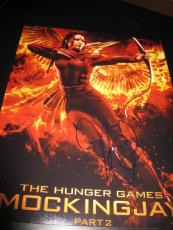 JENNIFER LAWRENCE SIGNED AUTOGRAPH 11x14 PHOTO HUNGER GAMES PROMO IN PERSON J6