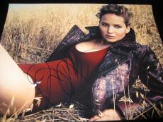 JENNIFER LAWRENCE SIGNED AUTOGRAPH 11x14 PHOTO SEXY CHIC DIOR BABE HUNGER GAMES