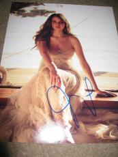 Jennifer Lawrence Signed Autograph 11x14 Sexy Babe Hunger Games Babe Coa Auto D