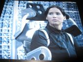 JENNIFER LAWRENCE SIGNED AUTOGRAPH 8x10 CATCHING FIRE HUNGER GAMES PROMO COA J