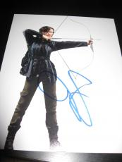 JENNIFER LAWRENCE SIGNED AUTOGRAPH 8x10 CATCHING FIRE PROMO HUNGER GAMES COA E