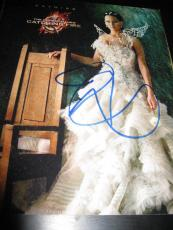 JENNIFER LAWRENCE SIGNED AUTOGRAPH 8x10 HUNGER GAMES CATCHING FIRE PROMO PROOF D