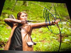 JENNIFER LAWRENCE SIGNED AUTOGRAPH 8x10 HUNGER GAMES CATCHING FIRE PROMO PROOF V