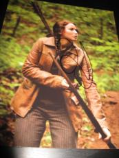 JENNIFER LAWRENCE SIGNED AUTOGRAPH 8x10 HUNGER GAMES CATCHING FIRE PROMO PROOF Y